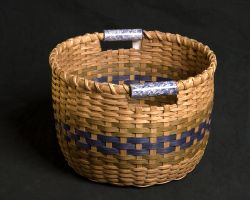 Field Basket with Pottery Handles
