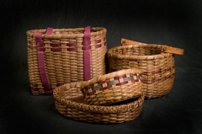Deeda's Baskets by Linda Lomasney